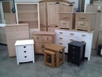 Furniture: Drawers, tables and chairs, dressers, tv units, dressing tables etc etc.