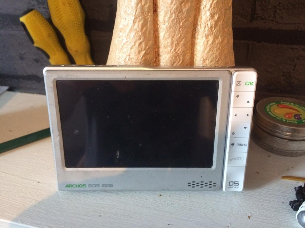 Archos 605 TV and video player