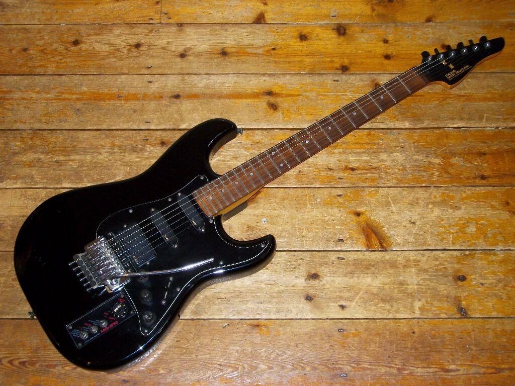 casio mg510 midi guitar synthesiser controller upgraded emg active pickups floyd rose and. Black Bedroom Furniture Sets. Home Design Ideas