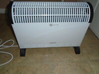 thermostically controlled convector heater