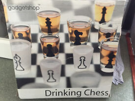 Drinking Chess Set Glass Chess Set Drinking Game