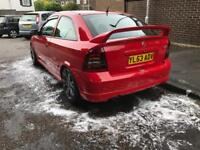 Astra gsi red rare Z20let vxr 298bhp