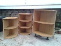 3 Kitchen Corner Shelf Units