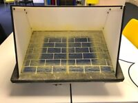 SIMAir A2 Spray Booth with 5 new filters