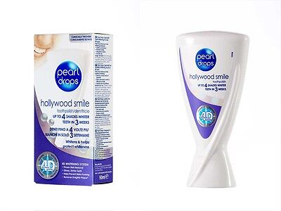 Pearl Drops - Hollywood Smile up to 4 shades whiter teeth in 3 weeks whitening  ()