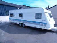 hobby 650 umfe prestige 2002 touring caravan