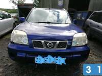 2004 Nissan X-Trail DCI, Blue, 5 door, 2,184 cc. For Breaking.