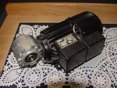 Weg Ac Motor With Reducer Type Odg 634 L 230400 Volt D-motor Ip 44 New