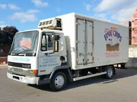 2000 LEYLAND DAF 45.150 MANUAL PUMP 7.5 TONNE FRIDGE FREEZER TRUCK LOW MILEAGE - LIKE MERCEDES MAN