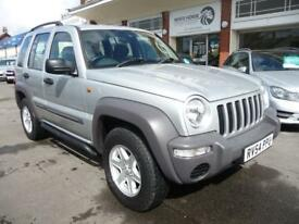 JEEP CHEROKEE 2.8 SPORT CRD 5d AUTO 148 BHP (silver) 2004