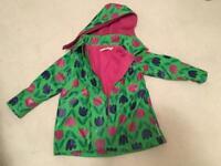 Gorgeous fleece lined jacket age 5-6 years