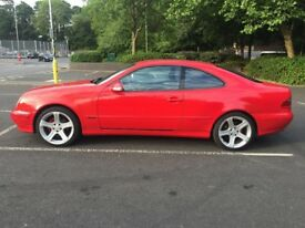 fore sale mercedes clk avangard 2.0 fuel in good condition mot 1 year