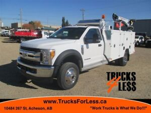2017 Ford F-550 XLT 4X4, UNUSED SERVICE TRUCK