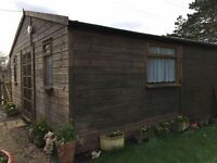 Large Insulated Garden Workshop / Office / Shed