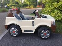 2 seats kids toy car