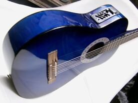3/4 steel string electro acoustic