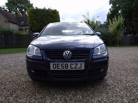 VW Polo Match 70 1.2 Litre, 5 door, Petrol, Manual 76000 miles