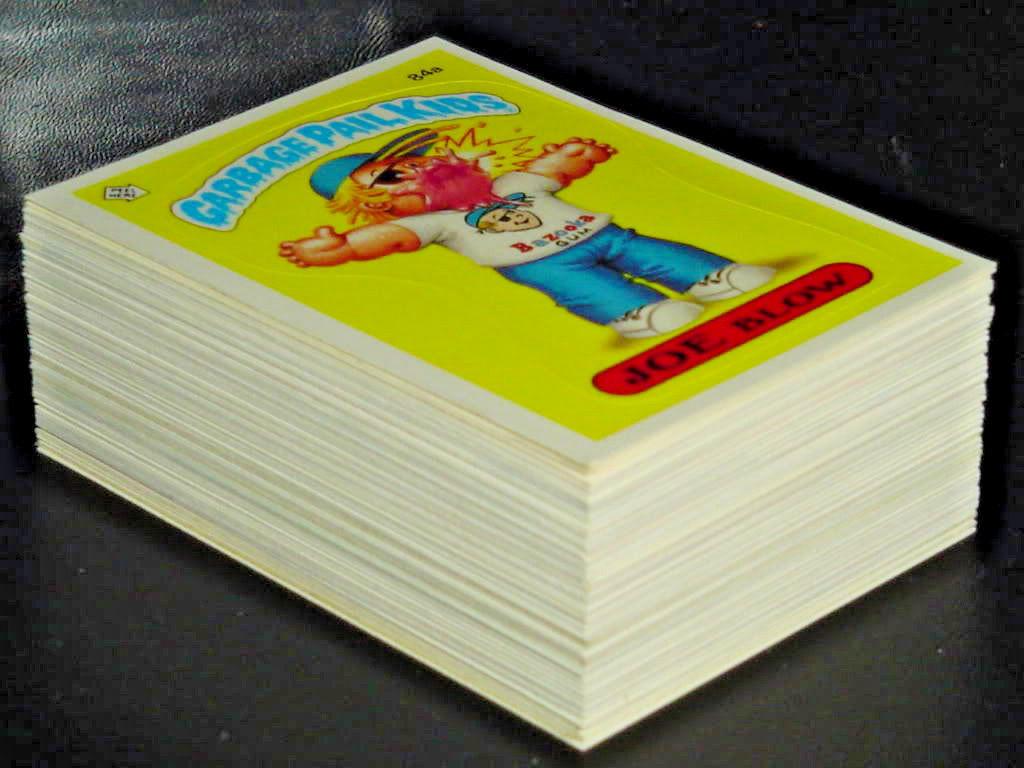 GARBAGE PAIL KIDS 3rd SERIES 3 COMPLETE 88-CARD SET 1986 +FREE WAX WRAPPER