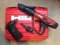 Hilti DX460 Nail Gun with Accessories and Fixings