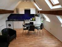 Superb 2 bedroom penthouse centre of fashionable Meanwood