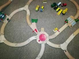 Brio train track