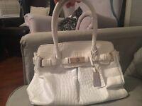 Jasper Conrad white handbag, used only a few times