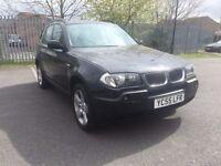BMW X3 2.0 SE Diesel 2005 12 Months Mot FSH ***Fantastic Offer***