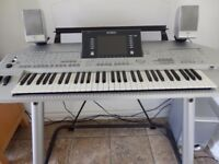 Yamaha Tyros 2 Keyboard in excellent condition, hardly used
