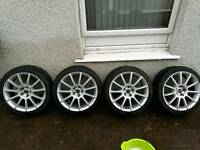 18 inch VW alloy wheels and tyres AUDI, SEAT, SKODA