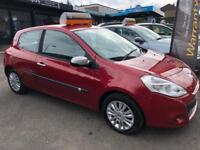 RENAULT CLIO 1.1 I-MUSIC 16V 3d 74 BHP (red) 2010