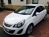 2014 Corsa in white,1.2 petrol, 22k miles, full service history £ 3990