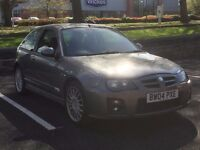 2004 MG ZR 1.8 AUTO * 3 DOOR * HALF LEATHER * SUNROOF * PX WELCOME * HISTORY inc CAM-BELT