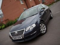 2007 VOLKSWAGEN PASSAT TDI 140 6 SPEED 12 MONTHS MOT WITH NO ADVISORIES LOADS OF SERVICE HISTORY