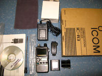 Scanner ICOM IC-R3 rare! Radio and tv receiver Boxed Excellent condition can deliver local