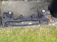 Genuine BMW e30 m3 Evo front subframe with anti roll bar