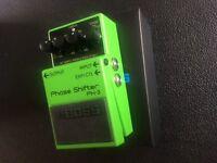 Boss Ph3 phaser fx pedal for guitar