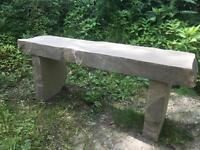 Yorkshire Stone bench