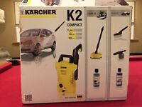Brand New Boxed Karcher K2 pressure washer with Home and Car Kit