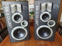 Jamo D165 3 Way Stereo Speakers 100W-165W 4-8 Ohms.
