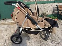 Double 3 wheeled buggy!