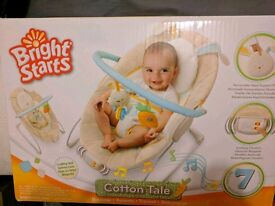 Baby bouncer boxed as new