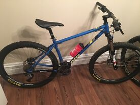 New Genesis Latitude 27.5 Steel Mountain Bike Medium
