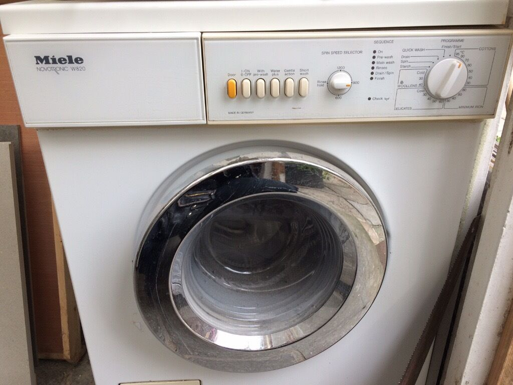 free miele novotronic w820 washing machine spare and repairs in shepherds bush london. Black Bedroom Furniture Sets. Home Design Ideas