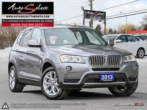 2013 BMW X3 xDrive28i AWD ONLY 92K! **PANORAMIC SUNROOF** PRE...