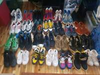 Collection of shoes kid size to adults Nike/Adidas/Louis Vitton/ Puma/Converse