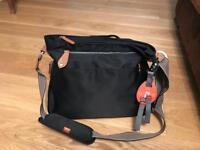 Black pacapod changing bag