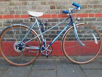 Vintage custom Raleigh wisp mixty frame bike