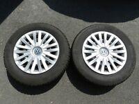 Winter Tyres, Wheels & VW Trims