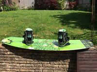 Slingshot reflex Wakeboard 137cm 2015 + Jobe Vanity Bindings