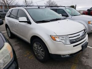 2009 Ford Edge Limited Awd Leather Sunroof 20 Inch Rims!!